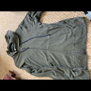 Men's James Perse light zip hoodie